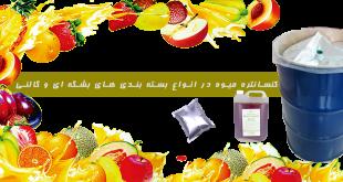 واردات کنسانتره میوه