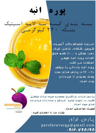 فروش کنسانتره میوه خارجی